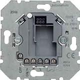 BERKER 2948 Zeitschalter elektronisch UP, 230 V, Metallisch