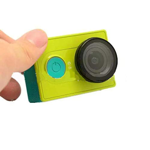 2ST / Set UVobjektivfilter Sport Action Kamera Schutz Objektivdeckel Deckel Ersatz für Xiaomi Yi Xiaoyi Kamera Regard L -