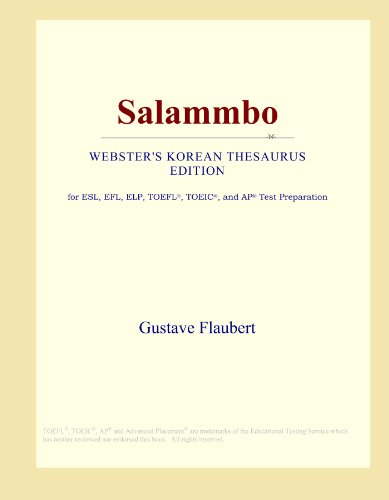 Salammbo (Webster's Korean Thesaurus Edition)