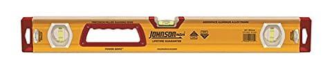 Johnson Level & Tool 1717-2400 Heavy Duty Aluminum Box Level, 24