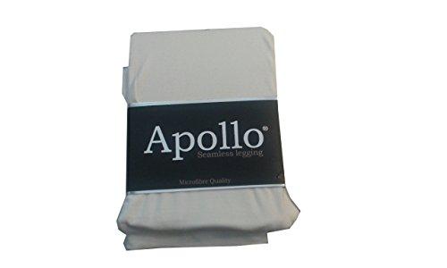 Seamless-Capri-Leggings ohne auftragende Nähte in Top Farben Farbe Weiß Größe XXL - Capri Leggings Nylon
