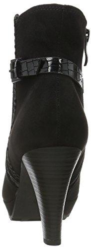 Marco Tozzi 25400, Bottes Classiques femme Noir (BLACK COMB 098)