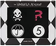 Dark Horse Deluxe The Umbrella Academy Enamel Pin Set
