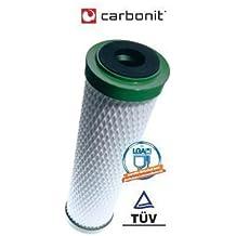 """Filtro de agua NFP Premium Carbonit - cartucho filtrante para filtro de agua carbonit, SanUno, Vario, 10"""""""