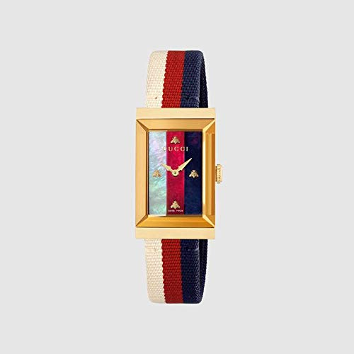 Reloj Gucci de Mujer g-Frame Correa de Tela YA147405