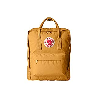 Fjällräven Kanken, Unisex Adults' Backpack, Yellow (Acorn), 27x13x38 cm (B x H T)