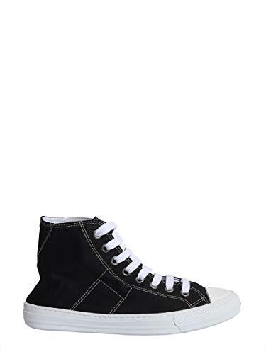 Maison Margiela Hi Top Sneakers Uomo S57ws0243p1875900 Tessuto Nero