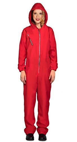 Rote Kostüm Kapuzen - Fiestas Guirca Kostüm House Card roten Anzug mit Kapuze Frau