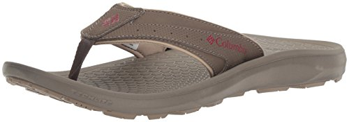 Preisvergleich Produktbild Columbia Men's Techsun Flip Hiking Shoe,  Mud,  Red Element,  8 D US