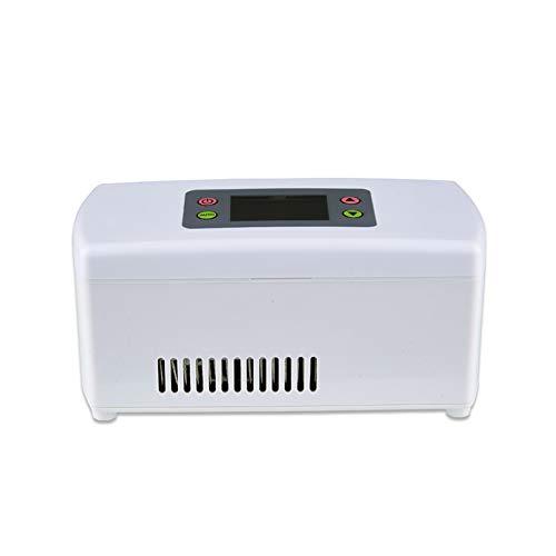 Preisvergleich Produktbild Ngls Insulin Tragbare Elektrische Gefrierbox 5L,  12V,  Heiße Kalte Tragbare Elektrische Kühlbox,  Langlebiges Wasserfestes Außenmaterial,  für Reisen und Camping
