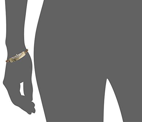 Aguila Pamela Love Bracelet d'identité doré