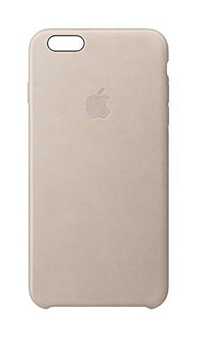 Apple Coque arrière en cuir pour iPhone 6/6S–Rose Gris