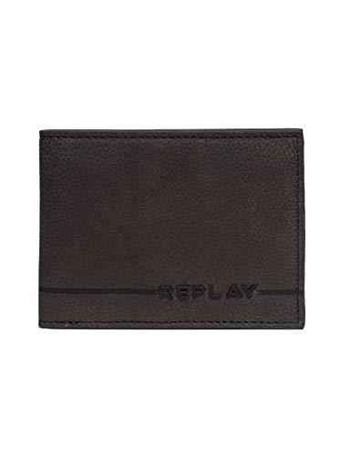Replay Herren Fm5164.000.a3052c Geldbörse, Braun (Brown Cocoa), 1x8,5x11 cm -