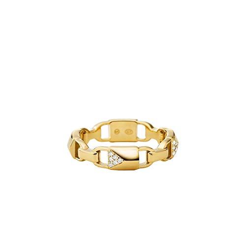 Michael Kors Damen-Damenring 925er Silber 57 Gold 32000050