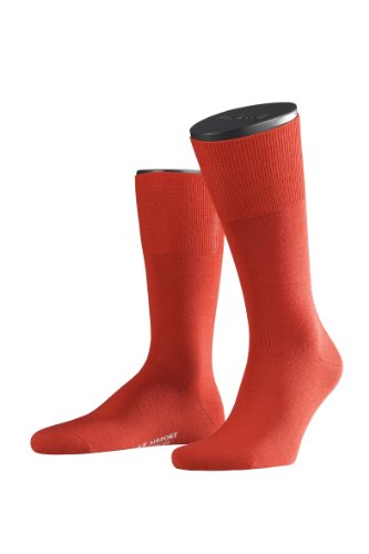 FALKE Herren Socken 14435 Airport Business SO, Rot (scarlet 8120), Gr. 41/42