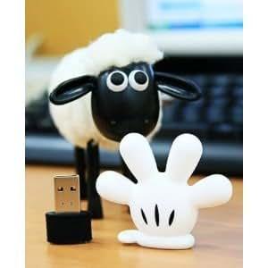 High Quality Mickey mouse hand 16 GB USB Flash Memory Drive