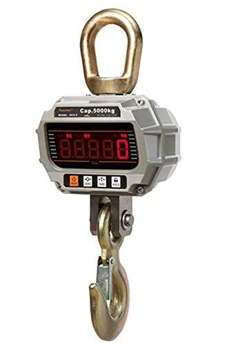 Especificaciones: Pesaje máximo: 2T Pesaje mínimo: 20kg Valor de graduación: 1kg Indexación: 2000 Batería: 6V4AH(batería no incluida) Cargador: DC9V Tiempo de trabajo continuo:> 80h Lista de empaque: Balanza de grúa Control remoto por infrarrojos ...