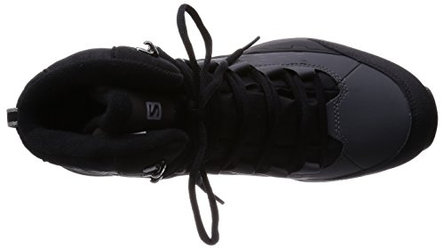 Salomon  Kaïpo Mid GTX, Chaussures de trekking et randonnée homme Gris - Grau (Black/Autobahn/Pewter)