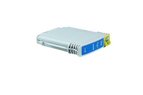 Hp-drucker-74 (printyo® Kartusche D Tinte C4837AE cyan kompatibel für Drucker HP DesignJet 50PS 28ml)