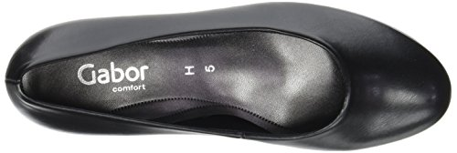 Gabor Shoes Comfort Basic, Scarpe con Tacco Donna Nero (51 Schwarz)