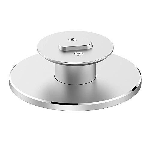 Tianranrt - supporto regolabile a 360°, in metallo, per amazon echo spot, argento