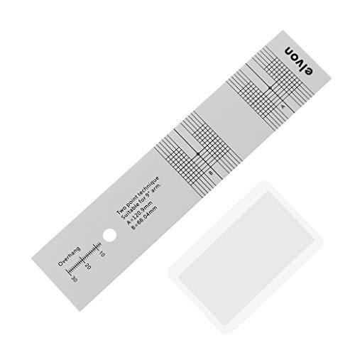 ZOUCY Pickup Kalibrierung Entfernungsmessgerät Winkelmesser Schallplatte LP Vinyl Plattenspieler...