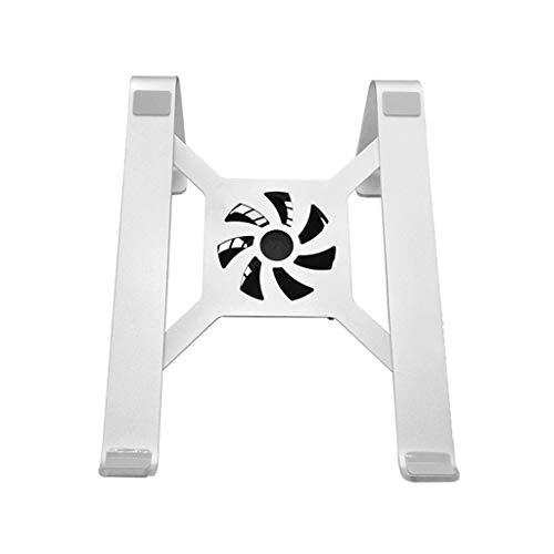 xiaoyuhy Laptopständer, Aluminium-Tischkühlständer Für 11-15,6-Zoll-Notebook Silber (Design : Design2)