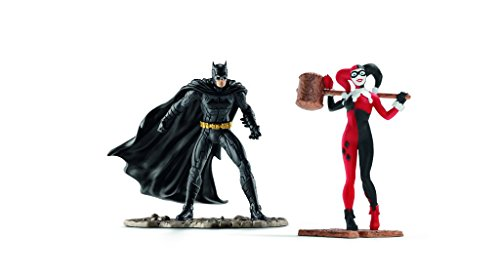 Schleich 22514 - Scenery Pack Batman vs Harley Quinn (Captain Action Joker Kostüm)