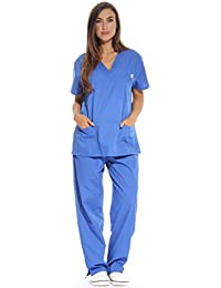 Sólo el amor de la mujer de enfermero (/bata médica (cuello de pico)