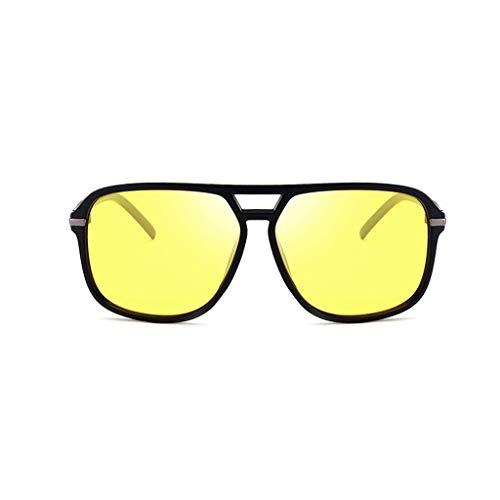Sonnenbrillen Herren Sonnenbrille UV 400 für Driving Polarized Lens Temple Retro Classic Eyewear ZQG (Farbe : F) -