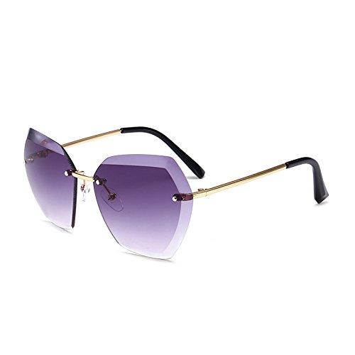 SUNGLASSES Neue Männer und Frauen Flut Boy Fashion Unregelmäßige Sonnenbrille Marine Fashion Street Kinder Gläser