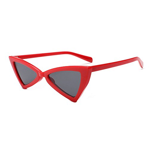 Battnot☀  Sonnenbrille für Damen Herren, Unisex Vintage Mode Katzenaugen Frame Acetat Rahmen UV Gläser Sonnenbrillen Männer Frauen Retro Billig Cateye Sunglasses Coole Women Fashion Travel Eyewear