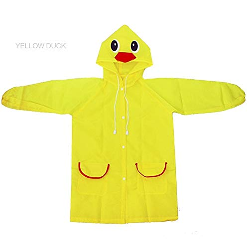 YUELANG Waterproof Kids Raincoat For Children Rain Coat Rainwear/Rainsuit Student Poncho Drop Shipping Baby
