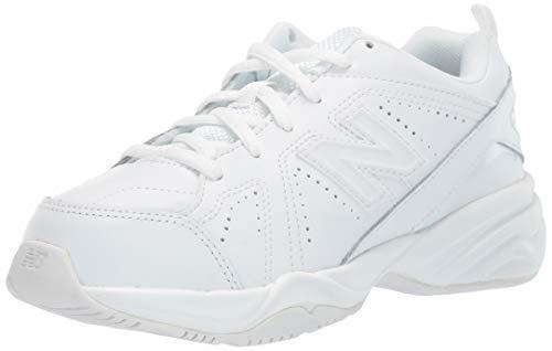 New Balance Kids Unisex KX624 (Little Kid/Big Kid) Sneaker , White, 33 X-Wide EU (Wide Sneakers Jungen)