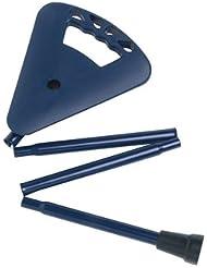 Siège de chasse Canne pliante Couleur bleu Hauteur du siège 70cm
