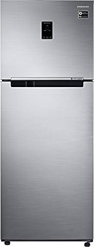 Samsung 415L 3 Star Inverter Frost Free Double Door Refrigerator (RT42M553ES8/TL, Elegant Inox, Convertible)