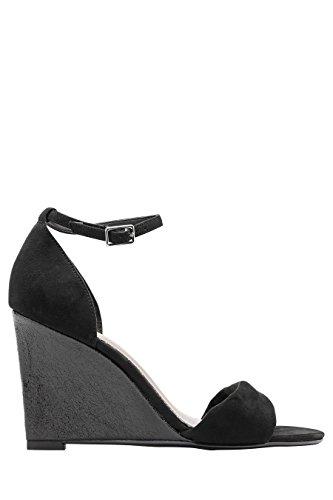 next Femme Chaussures Compensées Glamour Noir