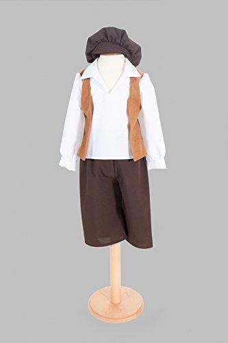 Victorian Street Trader Costume For Children Ages 5-11 Years (7-9 years) by Pretend to (Boy Urchin Kostüm)