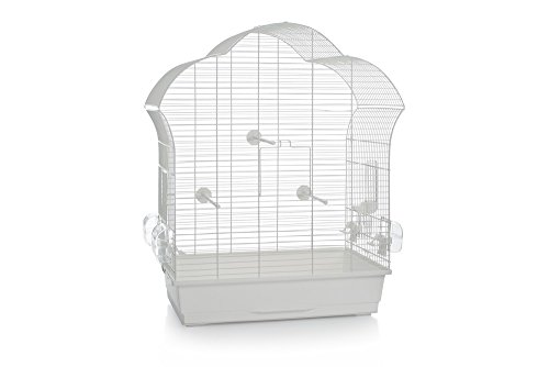 Beeztees Bird Cage Laura 3, 60, 5 x 34 x 71, 5 cm, White 1