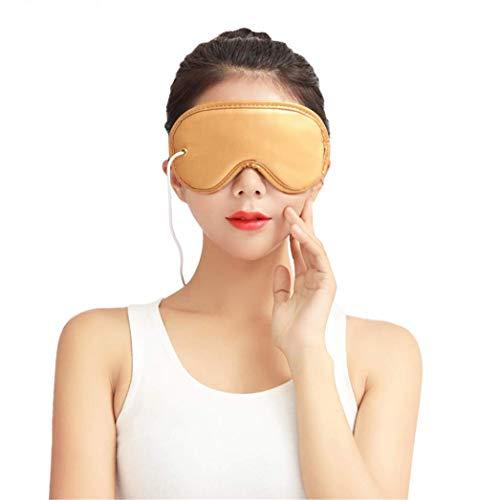 ACZZ Beheizte Augenmaske - Elektrisches Heizkissen Augenmaske Ferninfrarot-Therapie Einstellbare Temperatur, Schlafen Usb Beheizte Augenmassage-Maske Schlafmaske für trockene geschwollene Augen, Auge