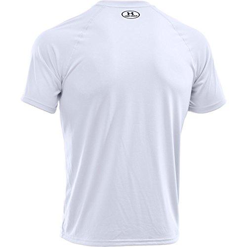 Under Armour Men's Tech Short-Sleeve T-Shirt, Weiß, 3X-Large