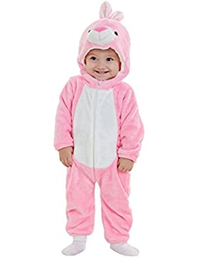 IFLIFE Pagliaccetti Flanella Bambino Ragazzo Neonata Animali Tuta Kigurumi Pigiama Anime Halloween Costume