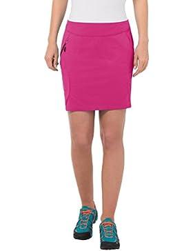 VAUDE Rock Women's Skomer Skort - Pantalones cortos para mujer, color rojo, talla 42