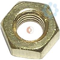 Dresselhaus 0/3130/000/5,0///53 - Hexagonal latón tuercas, m 5, 25 piezas