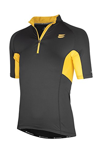 TRIBESPORTS CAMISETA MENS PERFORMANCE CYCLING JERSEY SS NEGRO M