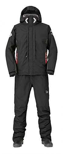 DAIWA RAINMAX® HYPER Combi-Up Hi-Loft Winteranzug schwarz Gr. XXL Thermo Suit DW-3406