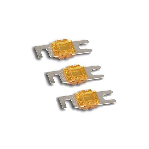 Stinger SPF58100 PRO 100A Mini ANL-Sicherung 3 Stück/mit Shoc-Krome-Beschichtung -