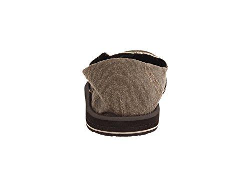Sanuk Pick Pocket 29418012, Sandali uomo Brown.