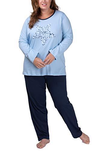 Moonline Plus - Pijama Mujer Tallas Grandes XL-4XL