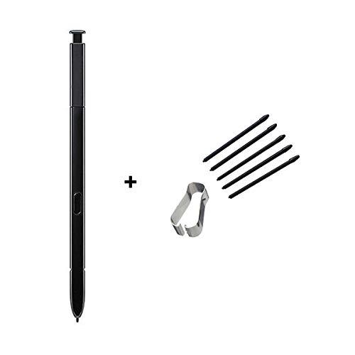 Cemobile Touch Pen S Pen (ohne Bluetooth-Steuerung) + Stiftspitzen für Samsung Galaxy Note 9 (schwarz)